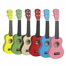 Groov-e 4 Strings Beginners Soprano Ukulele Uke Musical Instrument with Bag New