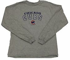 Chicago Cubs Arched Grey Long Sleeve Shirt