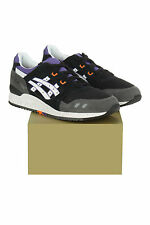 H425N-9001 ASICS TIGER BLACK/WHITE MEN GEL-LYTE III