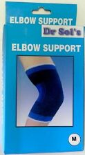 Sports Basketball Elbow Support Wrap Brace Protector Pad Sleeve Blue 2 Packs Pc