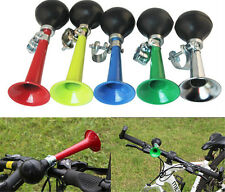 Bicycle Bike Cycling Retro Metal Air Horn Hooter Bell Bugle Rubber Squeeze