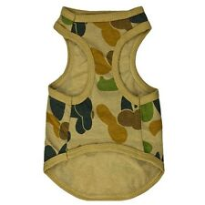 Camouflage Style Pet Dog Puppy Clothes Cute Vest T-Shirt Apparel Usa Ship