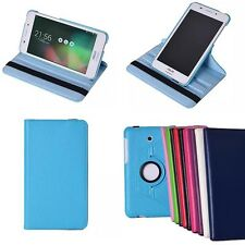 Rotating PU Leather Case F Asus FonePad 7 FE375CG Tablet Cover Protective Skin