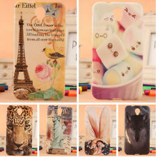 TPU Silicone Case Cover Protection For Alcatel One Touch Idol 2 OT 6037Y 6037K