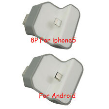 Portable Micro Wireless USB Wall Dock Charger Adapter For iphone 5/5s 6/6plus