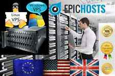 Windows VPS 512MB RAM 50GB HDD PC Virtual Private Server Dedicated VDS 2008 7 +