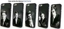 1D One Direction Music Band UK Case for Iphone 4 4s 5 5s 5c Hardback Plasticover