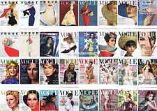 4 Vogue postcards - Famous covers - CHOICE Unused New