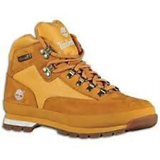 [91566] TIMBERLAND EURO HIKER WHEAT NU BUCK MEN'S SIZE 7 TO 12 NIB