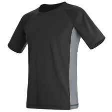 """Hanes - H7770 Cool Athletic Track T-Shirt Size S~(34"""") ~ 2XL~(52"""")"""