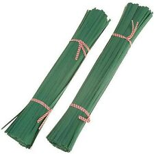 150mm Long Green Plant Twist Ties - Plants, Tomatoes, Shrubs, Flowers and More