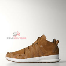 NEW 10 adidas Originals SL Loop Moc Shoes C77014 Brown Mesa Wheat Poppy flux