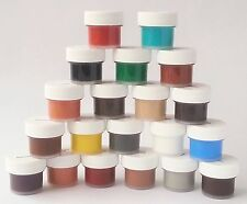 Leather & Vinyl Repair Kit Fix Auto Seats Sofas Handbags Choose Colors-1 JAR