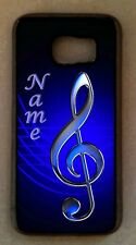 Personalized TREBLE Clef MUSIC cel CELL PHONE CASE black COVER for smart mobiles