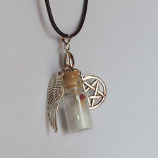 Supernatural Inspired Protection Necklace Charms Handmade