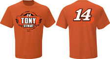 2015 TONY STEWART #14 BASS PRO SHOP ORANGE FAN UP NASCAR TEE SHIRT