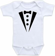Tuxedo Cute Baby Onesie Funny Onsie Clothing Cool Awesome Shower Gift Formal