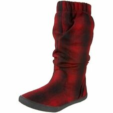 New Womens Girls Red/Black Blowfish Hobo Herdan Bootie Boots Shoes
