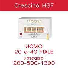 CRESCINA Hair Growth Factor 20/40 fiale Uomo 200-500-1300