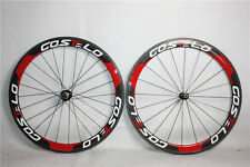 COSTELO 700c road bicycle carbon wheels tubular&clincher 18 21&20 24 TAIWAN OEM