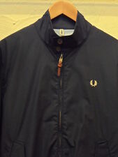 Fred Perry Paper Touch Harrington Jacket in Navy, M, L, XL New for 2015