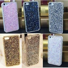 Luxury Bling Rhinestone Glitter Crystal Hard Back Case Cover For Samsung Galaxy