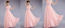 2014 Chiffon Evening Gown Bridesmaid Dresses Prom Dress Formal Party Ball Gowns