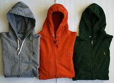 $98 NWT Mens Polo Ralph Lauren Patina French Terry Full Zip Hoodie Hoody
