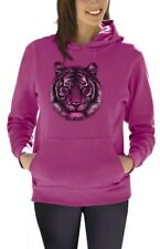 Tiger Women Hoodie Dripping Cool Birthday Gift Idea Holiday Pullover Hooded Top