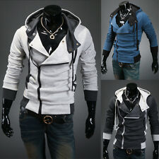 New Men's Assassins Creed Inspired Hoodie Jacket Halloween Costume USA Seller
