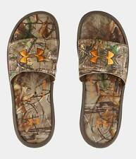 Under Armour UA Ignite Camo IV Slides Sandals - Realtree - Mens 8, 9, 10, 11, 12