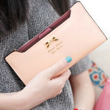 Fashion Women Lady Faux Leather Wallets Cool Bag Card Long Purse Valentine Gift