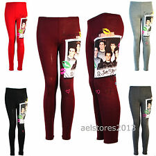Girls One Direction New Kid 1d Legging Photo Print size age 7 8 9 11 12 13 year