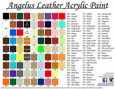 Angelus Acrylic Leather/ Vinyl Paint /Dye 1oz. Sneaker- 23 NEW COLORS!