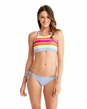 NEW ROXY™  Ladies Sail Away Halter Tie Side Bikini Womens Swimwear