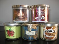 NEW Bath & Body Works 3 Wick Full Size Candle 14.5 oz - You Choose Scent