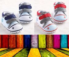 Star Baby boy girl shoes infant toddler cirb sneakers 0-18 months 3 sizes