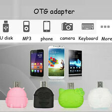 Android Mobile Phone Tablet USB To USB OTG Adapter To U Flash/Mouse/Keyboard
