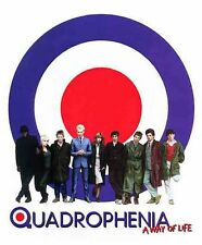 QUADROPHENIA T-SHIRT MOD THE WHO THE JAM STING FILM POSTER