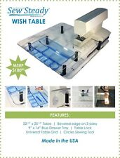 VIKING Sewing Machine NEW - Sew Steady Wish Extension Table