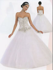 Quinceanera Ball Gown Dress Party Prom Evening Cocktail Pageant 4 To 16