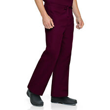 Scrubs Landau Unisex Reversible Classic Pant 7602 Wine Buy 3 Ship Free