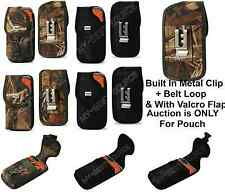 Cover Pouch Holster w/Belt Clip TO fit Lifeproof Case FOR Smart Cell Phone New