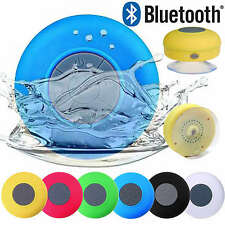 Waterproof Wireless Bluetooth Shower Speaker & Hands-Free Speakerphone