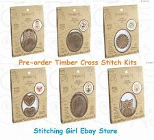 PRE-ORDER ~ Choice of Cross Stitch Kits Including Timber Frame by Make It