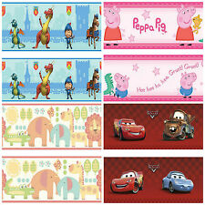 Kids Bedroom wall Design - Wallpaper Border - Many Designs for Kids Bedrooms