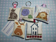Handmade Keyring Duck Mice Mackintosh Rose House Owl Cat Bunny Teddy Bear Witch