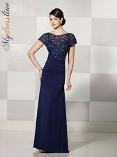 Cameron Blake 214695 Evening Dress ~LOWEST PRICE GUARANTEED~ NEW Authentic Gown
