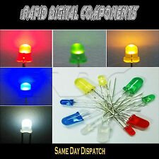 Diffused LEDs 1.8mm 3mm 5mm Red Green Blue Yellow White Warm White Amber bicolor