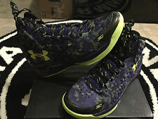 Under Armour UA Curry One 1 Dark Matter All Star PE GS Sz 4-7y Curry Kids Boys